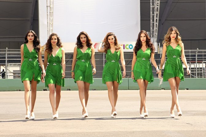 Heineken Grid Girls