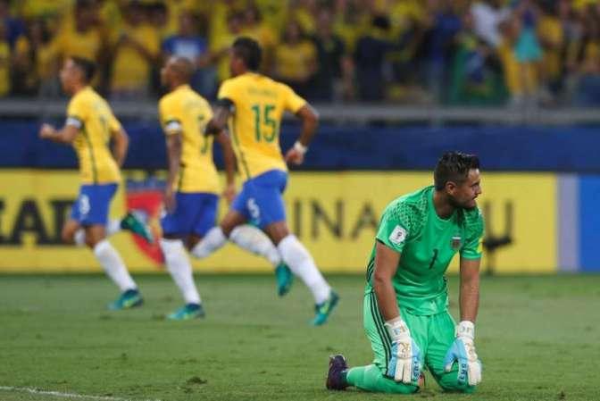 Complicado Y Aturdido: Brasil Paseó Al Equipo De Bauza