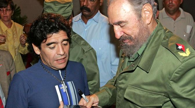 La Amistad Entre Fidel Castro Y Maradona En Imágenes