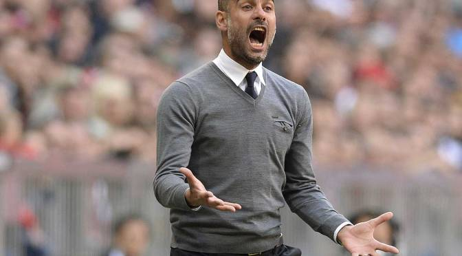 Pep Guardiola: El Controlador