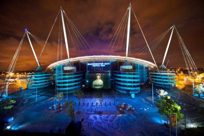 Liam Gallagher Puso La Música En El City-Barça
