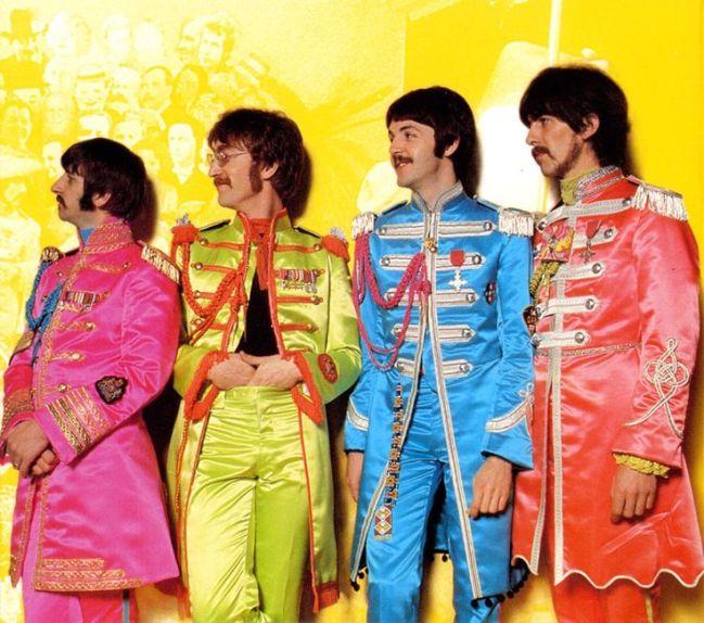 Beatles foto sgt