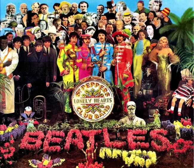 beatles SGT Peppers tapa