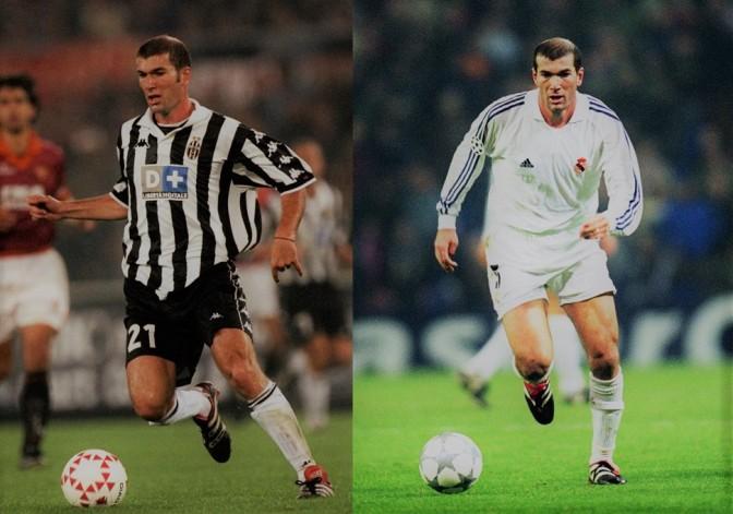 Además De Zidane 5 Futbolistas Que Jugaron Para Juventus y Real Madrid