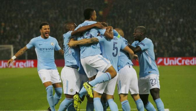 Made Of Stone: Manchester City Arranca Con Goleada