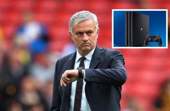 Mourinho Vs PlayStation