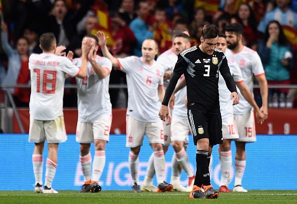 Spain v Argentina - International Friendly