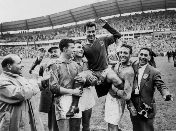 SOCCER-WORLD CUP-1958-FRANCE-WEST GERMANY-JUST FONTAINE