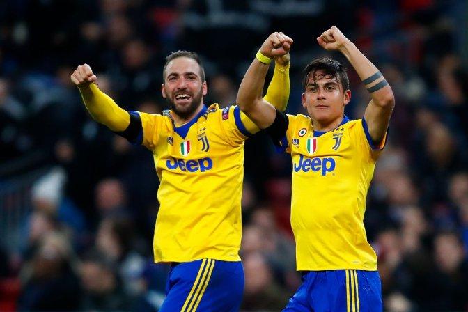 Juventus muestra su grandeza en Wembley