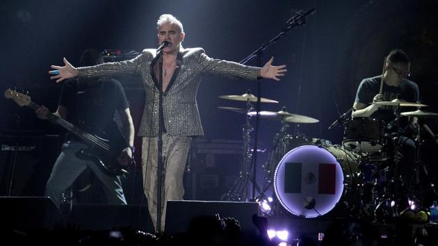 Morrissey, Mexico City, Mexico - 31 Mar 2017
