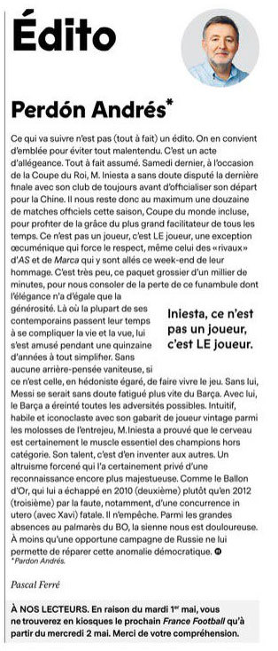 Editorial France Football
