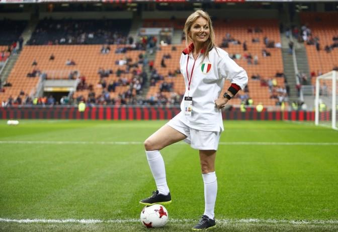 Geri Halliwell de 'Ginger Spice' a fanática de los deportes
