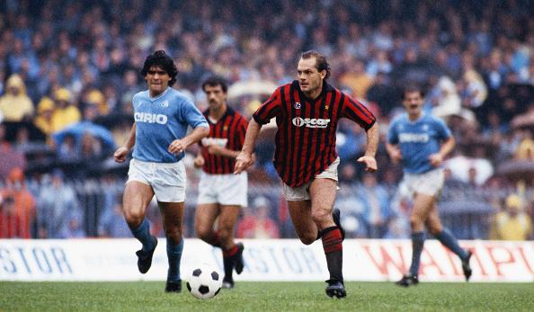 Ray Wilkins and Maradona