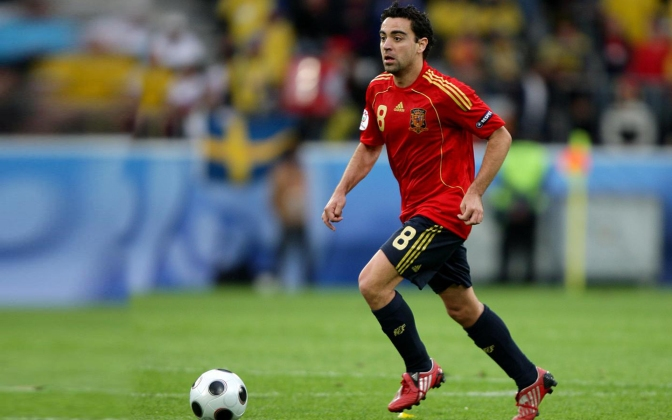 Xavi, el estilo fino del fútbol