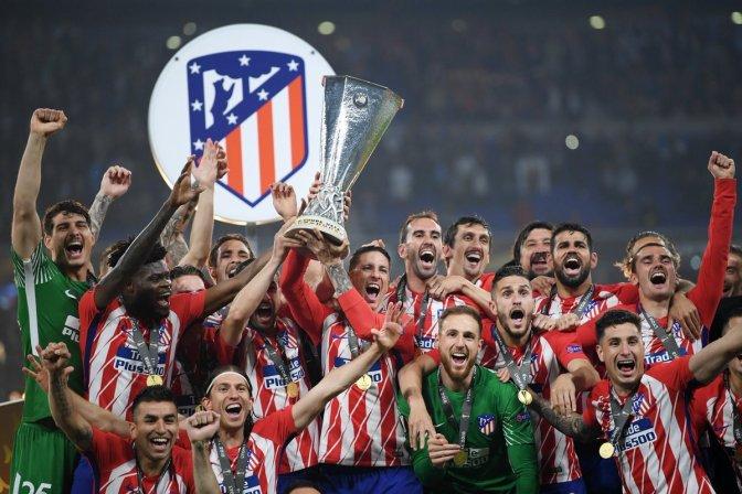 Atlético de Madrid pinta la Europa League de rojo y blanco