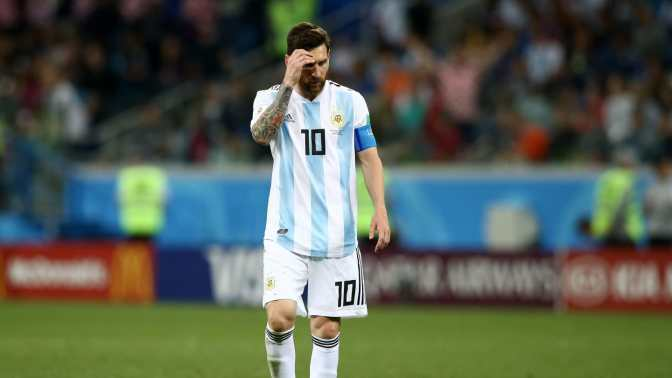 Humillante derrota de Argentina