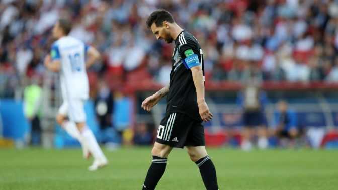 Argentina no pudo contra Islandia y decepcionó