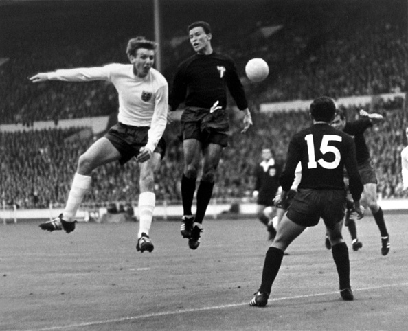 Soccer - FIFA World Cup England 1966 - Group One - England v Mexico - Wembley Stadium