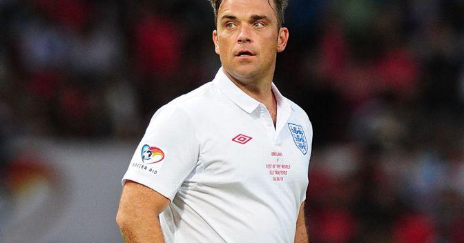 Robbie Williams, un futbolero en la Ceremonia de apertura de la Copa del Mundo