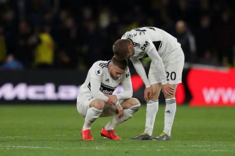Fulham relegated 2