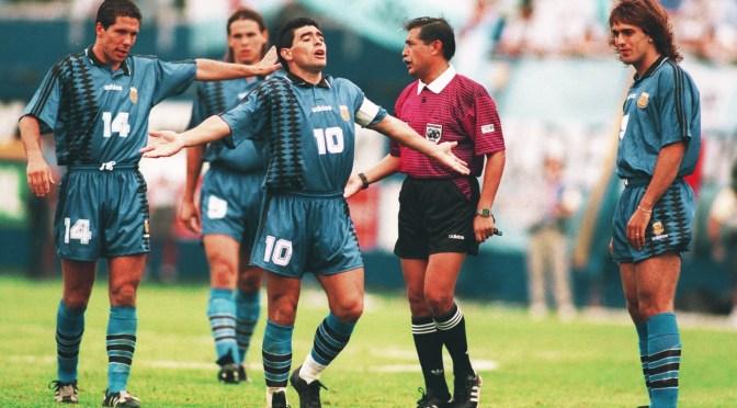 25 años de la última obra maestra de Maradona
