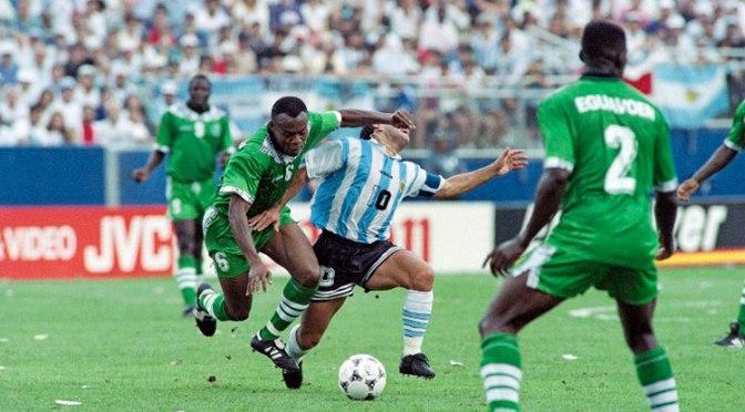 El último show de Maradona en una Copa del Mundo